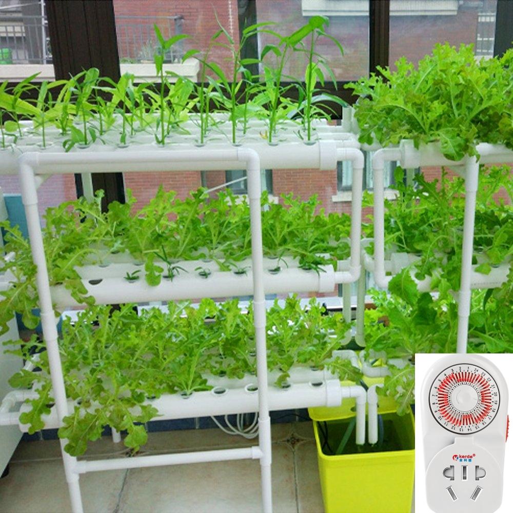 Домашня гідропонна система на 108 рослин з таймером