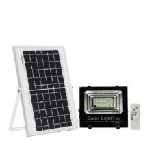 Прожектор настінний на сонячній батареї з датчиком руху вуличний 25Вт